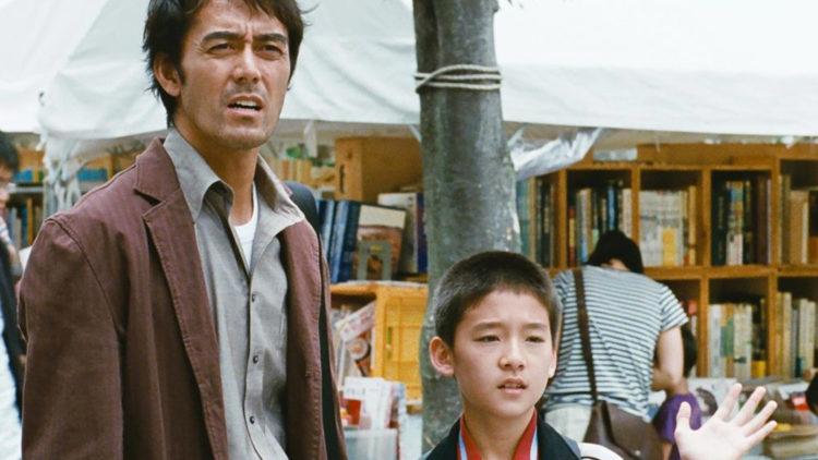 Ryota (Hiroshi Abe) og sønnen Shingo (Taiyô Yoshizawa) i Etter stormen (Foto: Another World Entertainment Norway AS)