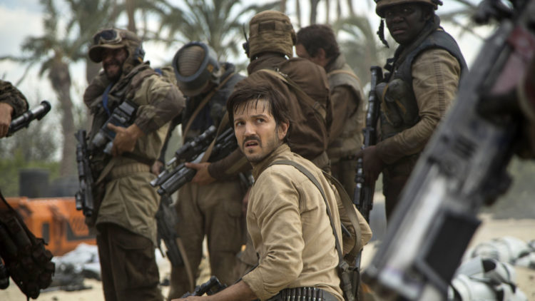 Diego Luna som Cassian Andor i Rogue One: A Star Wars Story. (Foto: Jonathan Olley/Lucasfilm Ltd., NTBScanpix)