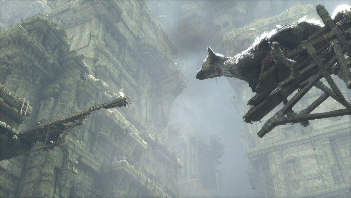 Spillverdenen i The Last Guardian er spennende å utforske. (Foto: Sony Computer Entertainment).