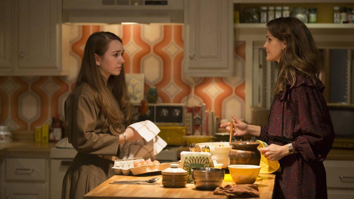 Forholdet mellom mor og datter ble en sentral tråd i den glimrende fjerde sesongen av spiondramaet The Americans (Foto: FX)