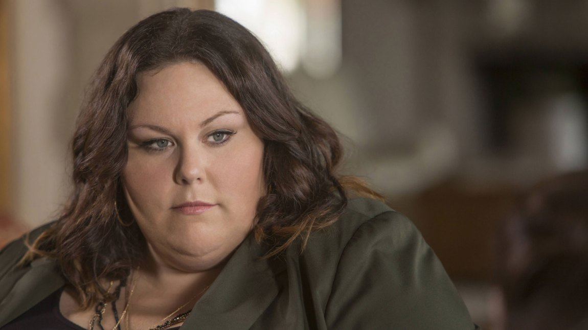 Chrissy Metz ble nominert til Golden Globe for sin glimrende rolle som Kate Pearson. (Foto: TV3, NBC)