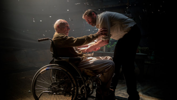 "Det gamle vennskapet mellom Charles Xavier (Patrick Stewart) og Logan (Hugh Jackman) står sentralt i ""Logan: The Wolverine"". (Foto: 20th Century Fox)"