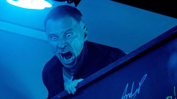 Begbie (Robert Carlyle) er ute etter hevn i T2: Trainspotting. (Foto: United International Pictures)