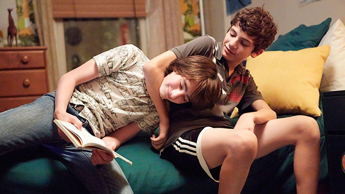 """Jake (Theo Taplitz) og Tony (Michael Barbieri) utvikler et godt vennskap i """"Little Men"""". (Foto: Another World Entertainment)"""