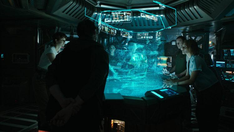 """Mannskapet på romskipet Covenant mottar et mystisk signal i """"Alien: Covenant"""" (Foto: 20th Century Fox)"""