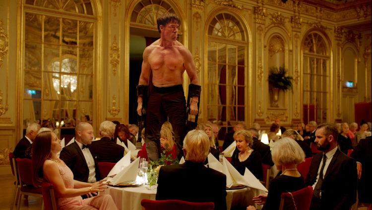 """Ruben Östlunds """"The Square"""" er eneste nordiske håp i årets hovedkonkurranse i Cannes. (Foto: Festival de Cannes)"""