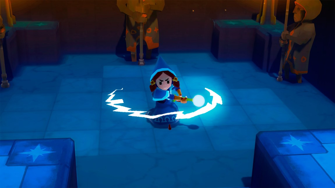 Lumina kan teleportere seg over korte avstander. (Foto: Rain Games)