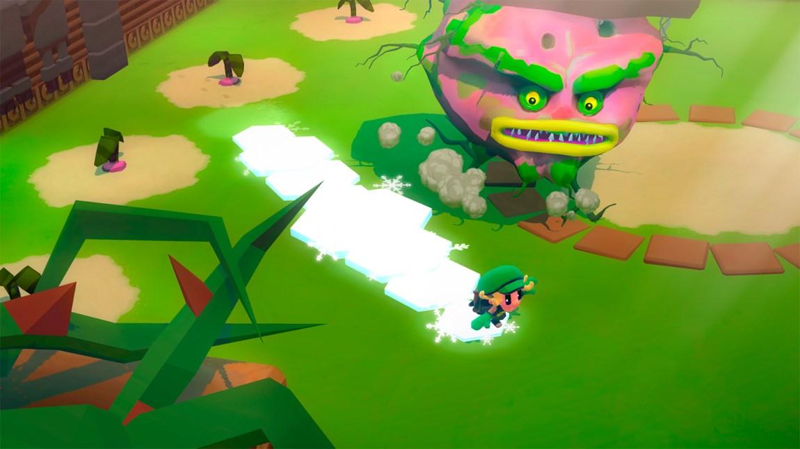 Spillet deler visse likhetstrekk med Zelda-universet. (Foto: Rain Games)