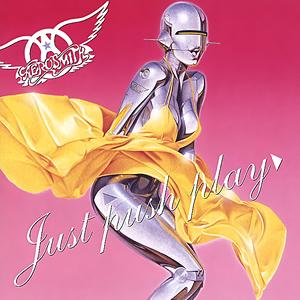Aerosmiths forrige studioalbum med eget materiale er Just Pus Play fra 2001. Foto: Albumcover.