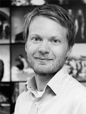 Christian Wadahl Uhlen er fungerende daglig leder i GramArt. Foto: Eva Rose, GramArt.