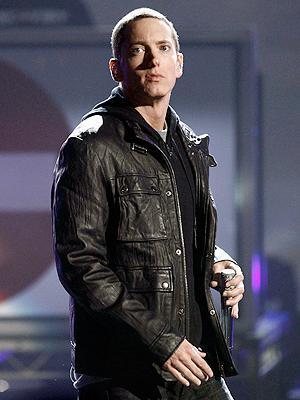 Rapperen Eminem er for tiden den tredje mest populære når det kommer til sosiale medier. Foto: NTB Scanpix / Matt Sayles, AP Photo.