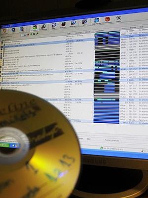 Foreldre er ikke, ifølge tysk høyesterett, ansvarlige for den fildelinga deres barn bedriver på sine datamaskiner. Illustrasjonsfoto: Colourbox.com.