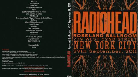 Omslaget til konsertopptaket. (Foto: Radiohead at ease)