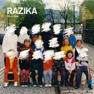 Razika sitt cover til På Vei hjem. (Foto: Promo)