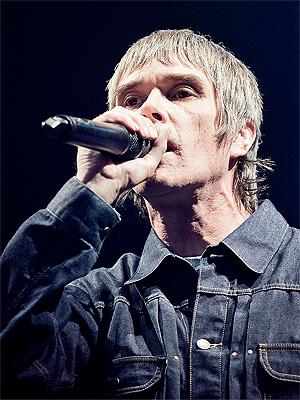 The Stone Roses spilte på Øyafestivalen i 2012. Foto: Tom Øverlie, NRK P3.