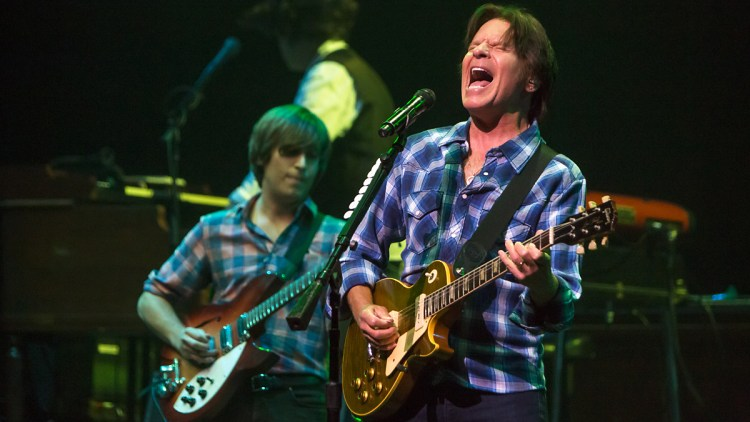 John Fogerty live under årets SXSW i Austin, Texas. Foto: Per Ole Hagen, NRK