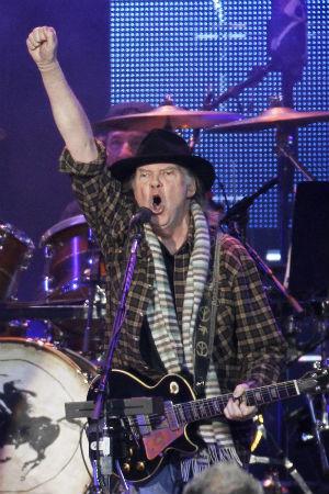 Neil Young dukket opp i Win Butlers drømmer. (Foto: NTB Scanpix, Reuters, Mario Anzuoni)