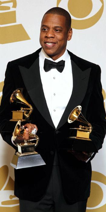 Jay-Z på årets Grammy-utdeling. (Foto: NTB Scanpix, AP, Matt Sayles)