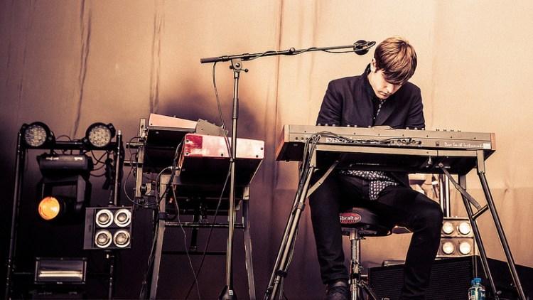 James Blake på Øyafestivalen 2013. (Foto: Kim Erlandsen, NRK P3)