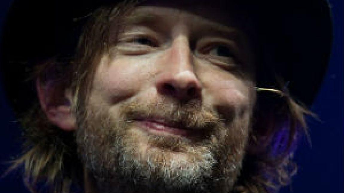 Radiohead-vokalist Thom Yorke. (Foto: NTB Scanpix, AFP, Leon Neal)