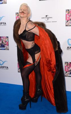 Lady Gaga er artisten med nest høyest inntekt i 2013. (Foto: NTB Scanpix, AP, Britta Pedersen)