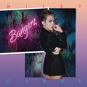 Miley Cyrus-albumet Bangerz toppa den amerikanske albumlista for to uker siden, men sist uke kom det på 4. plass med kun 43.000 solgte. Foto: Promo.
