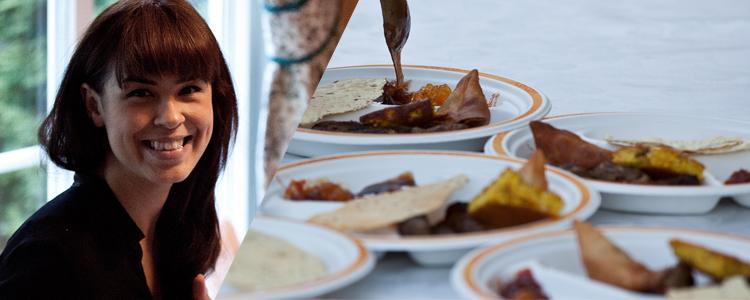 Maria Mena/ Indisk mat hjemme hos Chirag (Foto: NRK/ P3)