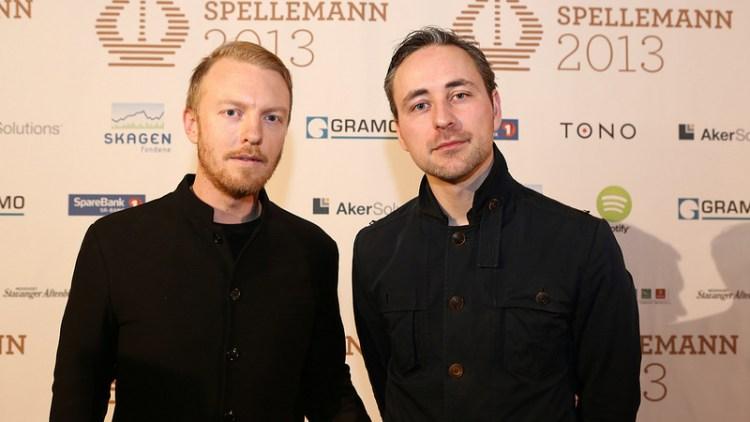 Skambankt-vokalist Terje Winterstø til venstre. (Foto: Tom Øverlie, NRK P3)