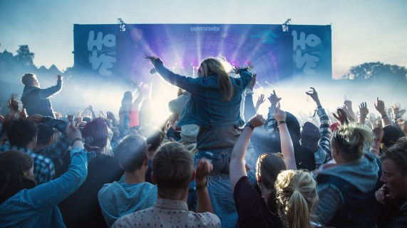 Hovefestivalen 2013. Foto: Kim Erlandsen, NRK