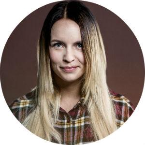 Christine Dancke. Foto: Kim Erlandsen, NRK P3