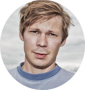 Mats Borch Bugge. Foto: Kim Erlandsen, NRK P3