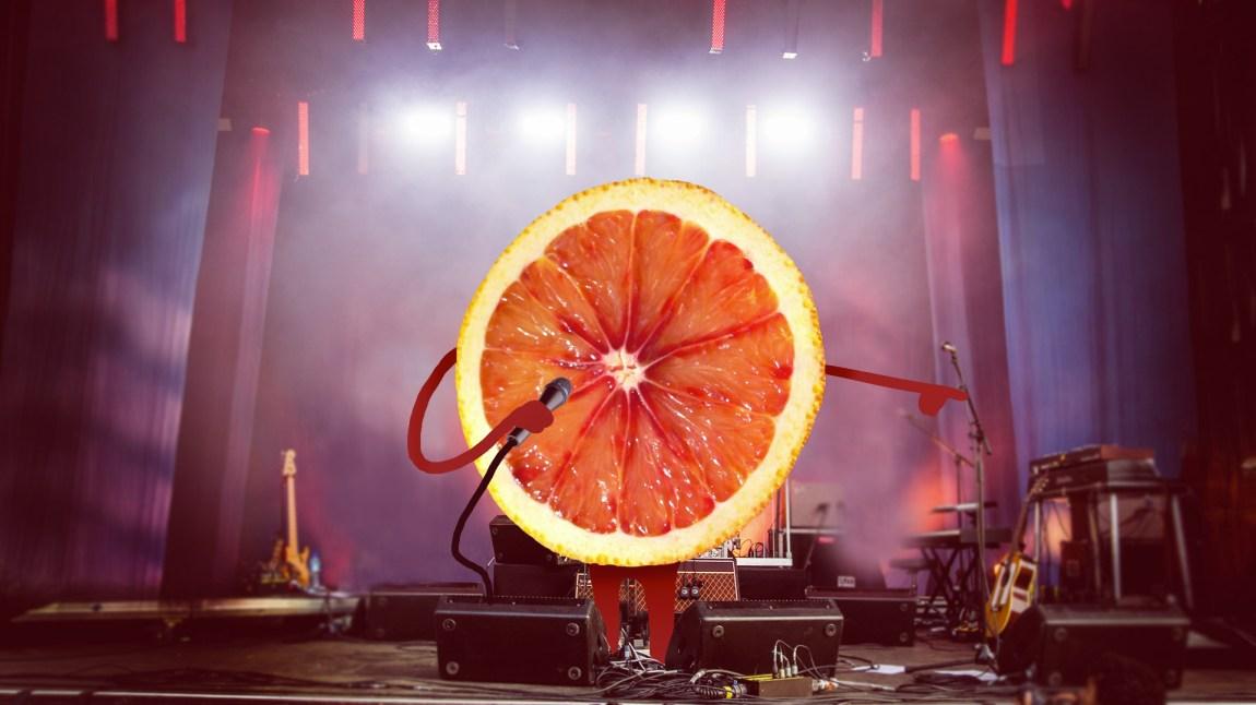 Blood Orange hadde fotoforbud på Øya 2014, så vi måtte ta saken i egne hender. Illustrasjon: NRK P3.