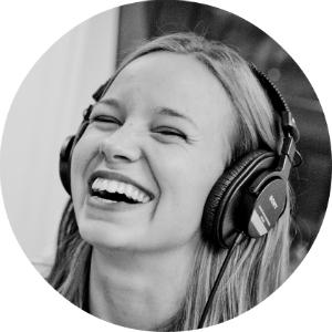 Marit Larsen kjenner godt til Urørt-finalistene. (Foto: Jonas Jeremiassen Tomter, NRK P3)