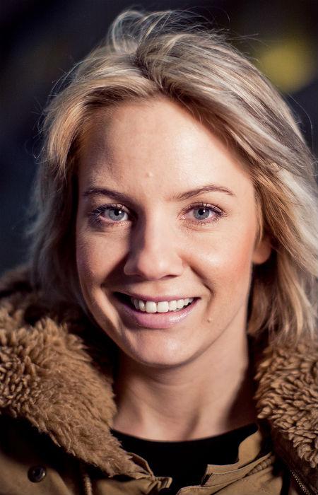 Ina Wroldsen på P3 Spanderer. Foto: Tom Øverlie, NRK P3