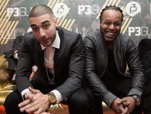 Kaveh og Yosef under helgens P3 Gull. Foto: Rashid Akrim, NRK P3