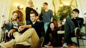 Bærumsgruppen Kid Astray fikk låten sin covret av Kaveh. (Foto: Promo)