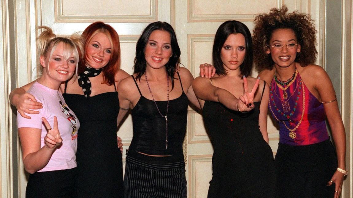 Slik så Spice Girls ut på slutten av nittitallet da de herjet på hitlistene. (Foto: NTB Scanpix, Thomas Coex)