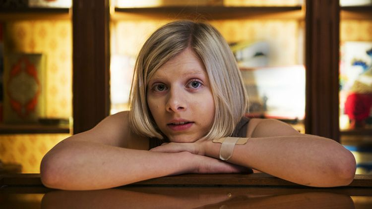 Aurora avbildet i Freialand. Foto: Li-Lian Ahlskog Hou, NRK P3
