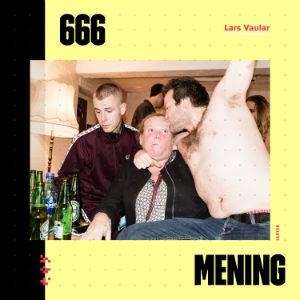 666 MENING albumcover