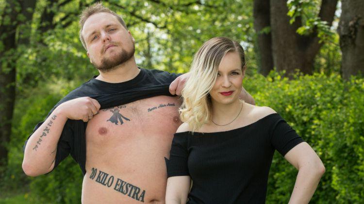 Staysman og Christine Dancke leder VG-lista Topp 20 på Rådhusplassen i Oslo fredag 24. juni. Foto: Kim Erlandsen, NRK P3