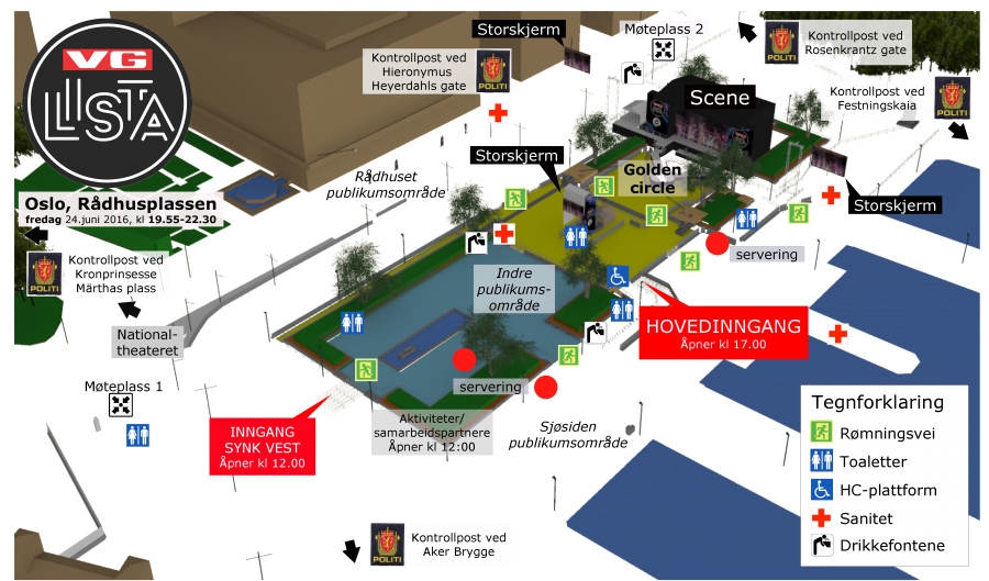 Kart-Rådhusplassen