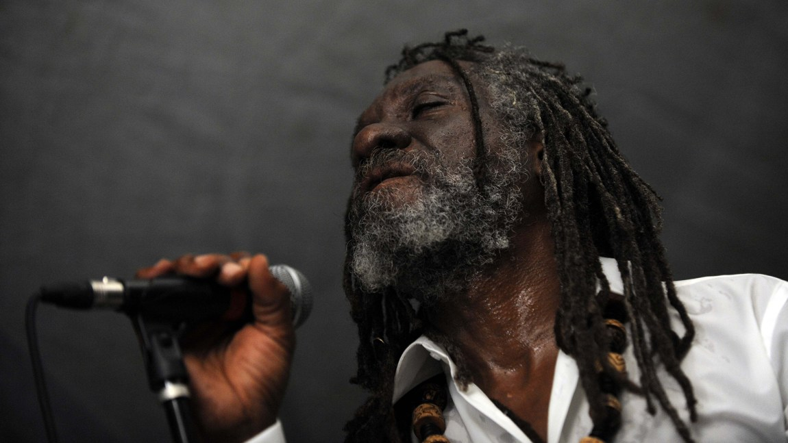 Reggae-artist og komponist Winston McAnuff. (Foto: Hector Retamal, Scanpix, Afp)