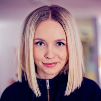 Christine går live fra Peloton under by:Larm-fredagen. Foto: Tom Ivar Øverlie, NRK P3