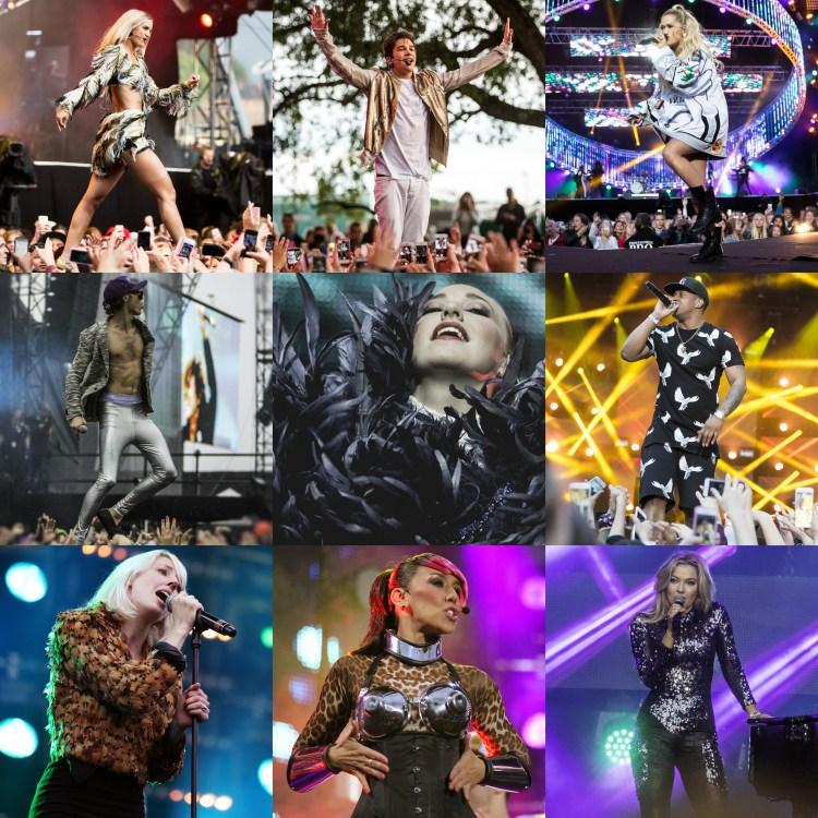 Et lite utvalg scene-plagg fra de siste årene. (Collage: NRK P3)