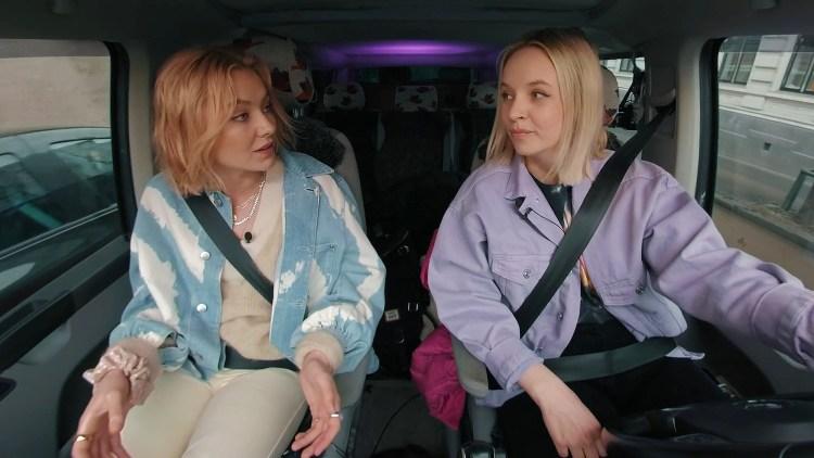 HAIK: Astrid S i samtale med Christine Dancke. Skjermdump, NRK