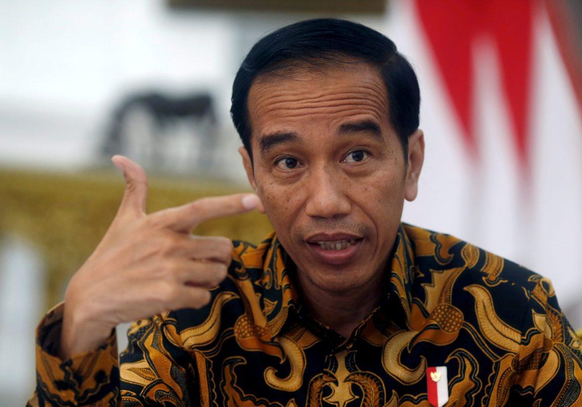Indonesias president Joko Widodo