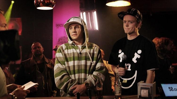 Jaa9 og OnklP. (Foto: Tom Øverlie, NRK P3)