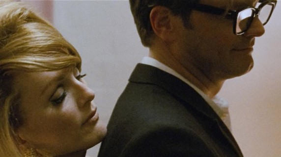 "Julianne Moore og Colin Firth i ""A Single Man"" (Foto/Copyright: SF Norge)."