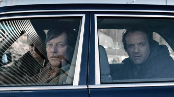 "Bjørn Floberg og Gard Eidsvold i ""En ganske snill mann"" (Foto/Copyright: Paradox AS)."