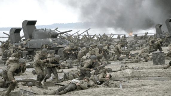 Sterke krigsscener i Saving Private Ryan. (Foto: DreamWorks)
